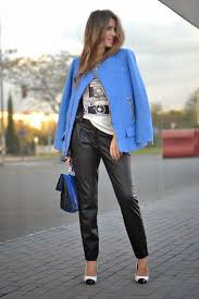 style black leather pants for women