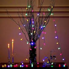 Dây đèn led lung linh sắc màu trang trí giáng sinh, lễ tết dài 3 mét với 20  bóng tròn nhỏ treo cây thông noel trang trí nhà cửa, sinh nhật, sự