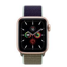 Apple Watch Series 5 GPS, 40mm Gold ...