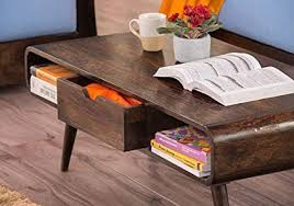 stratosphere solid wood coffee table