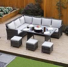 9 seater rattan sofa set sofa dining