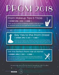 public library offers prom tips