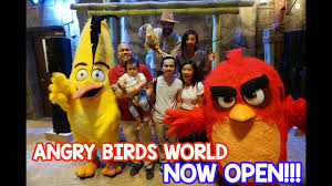 Angry Birds World now open in Doha! - YouTube