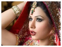 native indian bridal makeup fashion