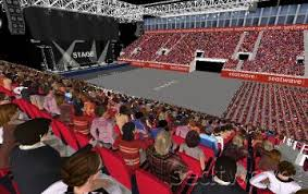 genting arena view from seat block 13