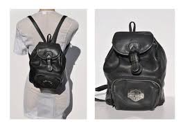 leather backpack tote