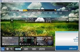 free weather channel desktop