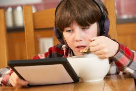 Image result for children playing mobile games during diet