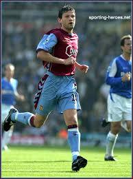 Eirik BAKKE - League appearances. - Aston Villa FC