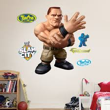 Buy Fathead Wall Decal Real Big Wwe Slam City John Cena Online At Low Prices In India Amazon In