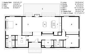 floor plans ranch bungalow house plans