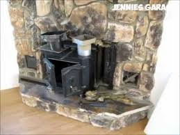fireplace install wood pellet stove