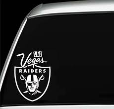 Las Vegas Raiders Fan Inspired Car Laptop Wall Vinyl Decal Etsy