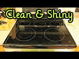 how to clean a glass top stove you