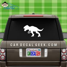 Jurassic Park T Rex Dinosaur Car Truck Decal Sticker