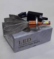 BMA Bóng đèn Led xe máy chân HS1, Bóng đèn Led chân H4 - Điện máy 12v AC  hoặc điện bình 12v DC
