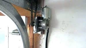 shaft garage door opener