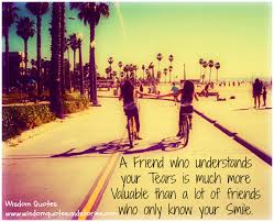 a friend who understands your tears wisdom quotes stories