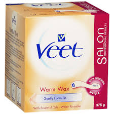 veet warm wax with essential oils