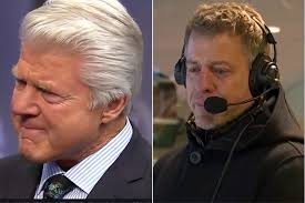 Jimmy Johnson, Troy Aikman tear up in live Hall of Fame announcement