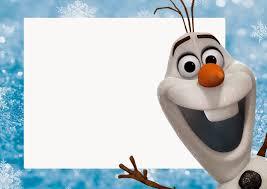 Olaf Invitaciones Para Imprimir Gratis Invitaciones Para