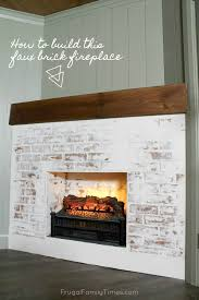 build a faux fireplace in a corner