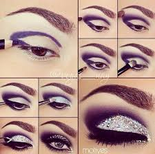 purple witch eye makeup ideas