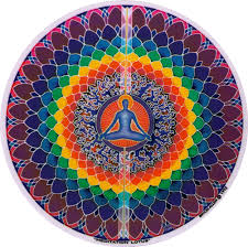 Meditation Lotus Window Sticker Decal Peace Resource Project