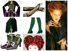Winifred Sanders Halloween Costume Idea.. trying to make the girls  Sanderson sister co…   Hocus pocus costume, Halloween party costumes,  Sanderson sisters costumes