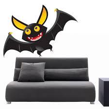 Shop Full Color Happy Bat Night Animals Cartoon Full Color Wall Decal Sticker Sticker Decal 44 X 52 Overstock 15284813