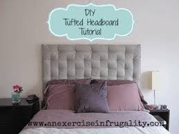 diy tufted headboard tutorial an
