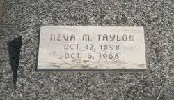Neva Magdalena Beck Taylor (1898-1968) - Find A Grave Memorial