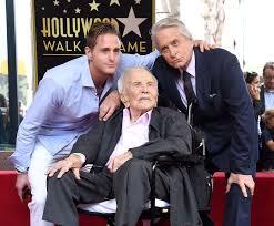 Kirk Douglas, 102, Is 'Begging' Son Michael Douglas For A Quiet ...