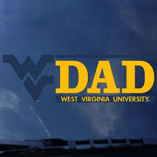 Wvu Mountaineers Colorshock Decal Barnes Noble At Wvu