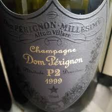 1999 dom pérignon chagne p2 france