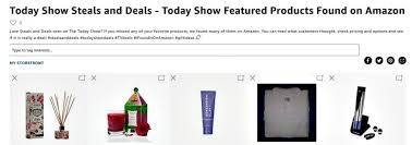 jill s steals and deals today show