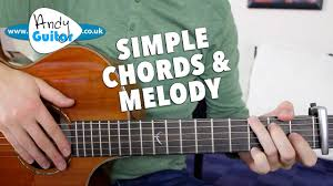 Somewhere Over The Rainbow EASY Chords and Melody Guitar Tutorial ...