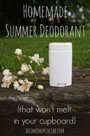 homemade summer deodorant that won t