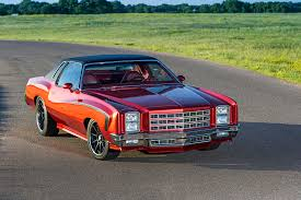 1977 pro touring style chevy monte carlo