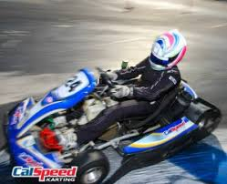 Calderon Scores First Career Win in Sprint Rd 2 | CalSpeed Karting