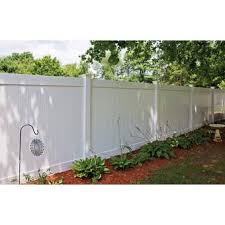 Wayside City Line Of Pvc Fence 6 Ft H X 8 Ft W Hamden Vinyl Fence Panel Wayfair