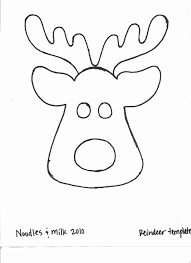 Kleurplaten Kerstmis Reindeer Clipart Coole Kerstman En Rendier