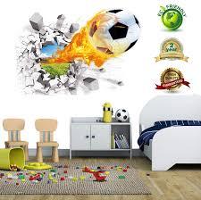 Soccer Wall Decals For Bedroom 3d Soccer Buy Online In Bahamas At Desertcart