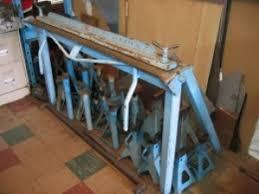 homemade sheet metal brake