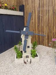 diy painted pallet windmill perfect