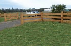 Click On Image To Go Back Post And 3 Rail Fence Constructed With Cypress Pine Rail Fence Post And Rail Fence Farm Fence