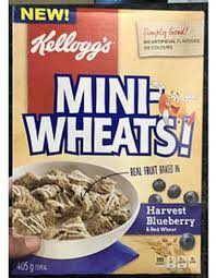 harvest blueberry mini wheats cereal