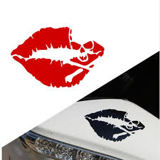 Laptop Cars Truck Window Bumper Stickers Sexy Kiss Mark Skull Lip Sexy Decal Sticker Girl Lipstick Buy At A Low Prices On Joom E Commerce Platform