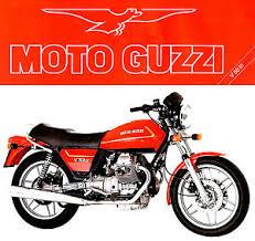moto guzzi v50 iii motorcycle brochure