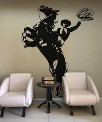 Vinyl Wall Decal Sticker Wild West Horse And Cowboy Os Aa427 Stickerbrand